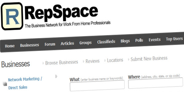 RepSpace-MLM-Business-Network