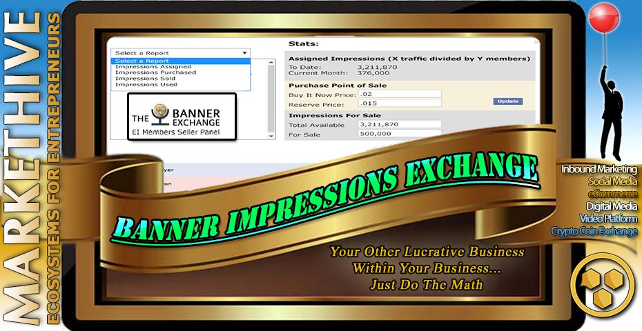 Banner Impressions Exchange